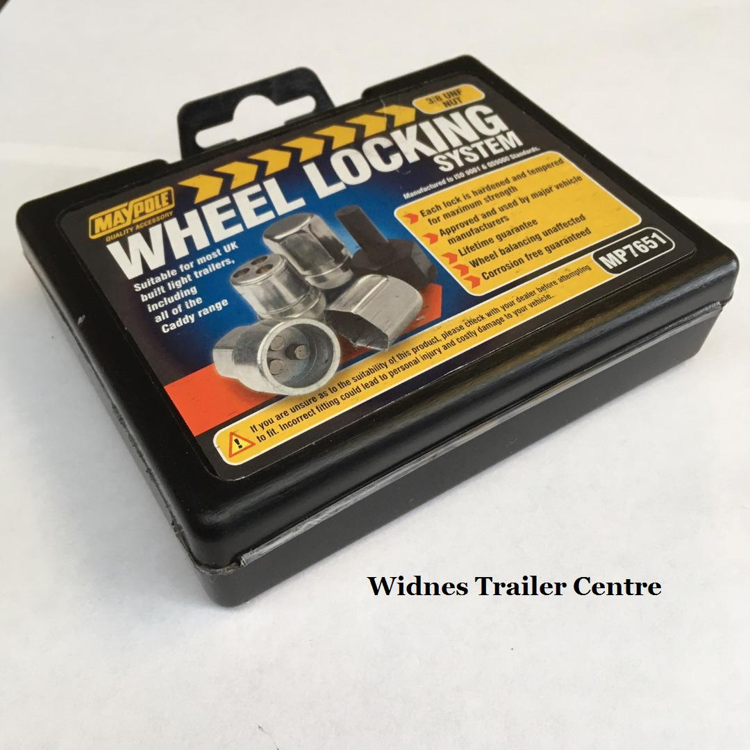 Trailer And Caravan MP7651 Locking Wheel Nuts
